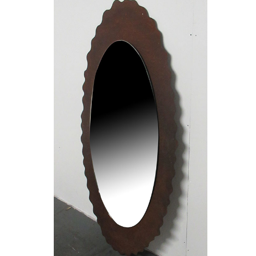 Used Salon Rust Copper Styling Mirror BG85A