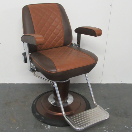 Used Sportsman Barber Chair by Takara Belmont BF51G- GRADE 2