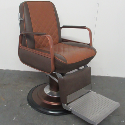 Used Cadilla Barber Chair by Takara Belmont BF51B- GRADE 2