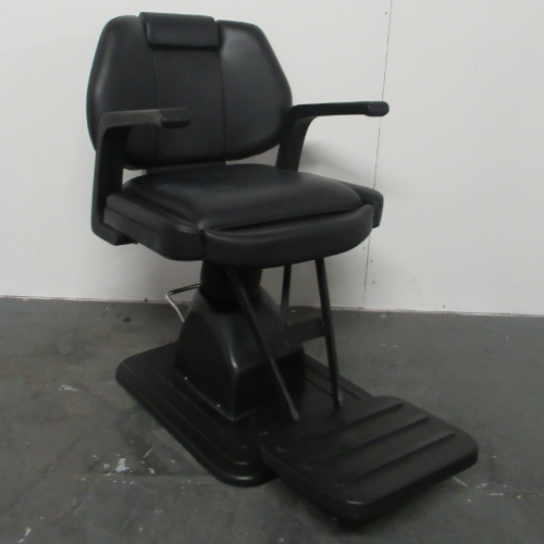 Used Black Barber Chair - BH01A