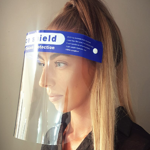 Medical Grade Salon Face Visor Shield by SEC