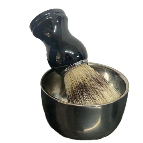 Shaving Brush and Shaving Bowl set by BEC