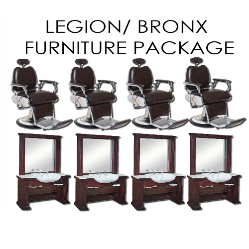 Legion/ Bronx Barber Package by BEC