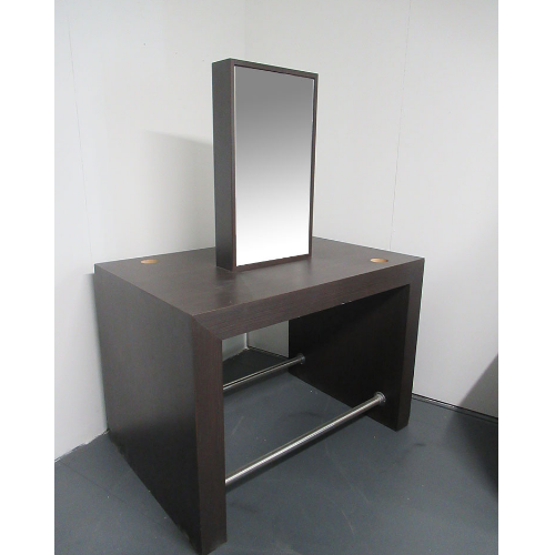Used Wood Effect Salon Styling Island Unit - BG06B