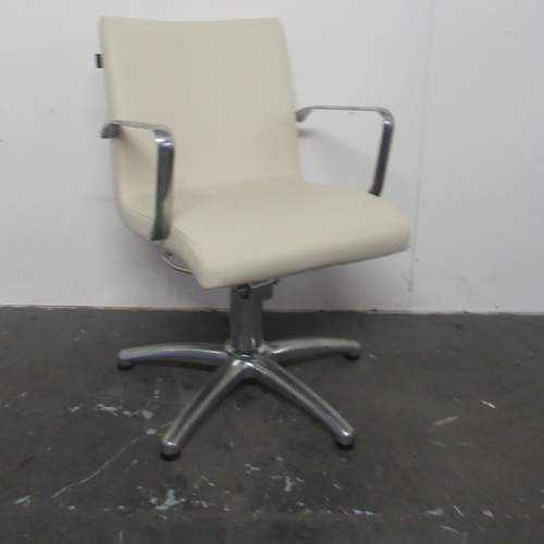 Used CreamAriel Salon Styling Chair by REM - BH09B