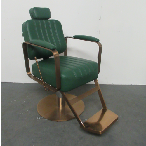 Copper & Green Reclining Chair by SEC - CLEARANCE