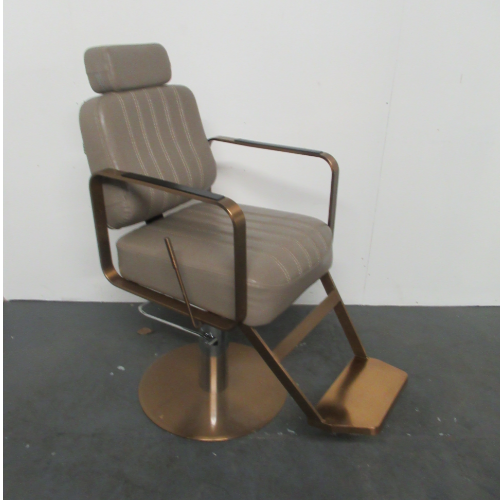 Copper Canterbury Barber Chair by BEC - CLEARANCE