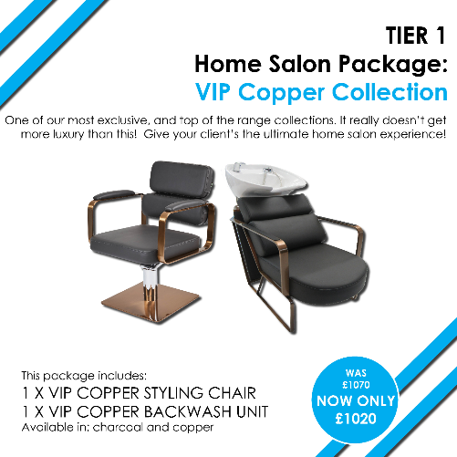 T1 VIP Copper Home Salon Package by SEC