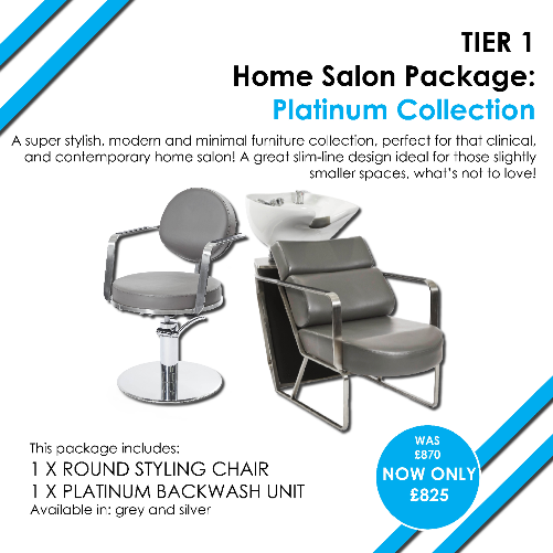 T1 Platinum Home Salon Package by SEC