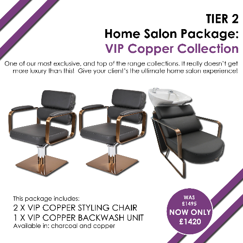 T2 VIP Copper Home Salon Package by SEC