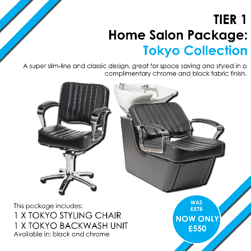 T1 Tokyo Home Salon Package by SEC