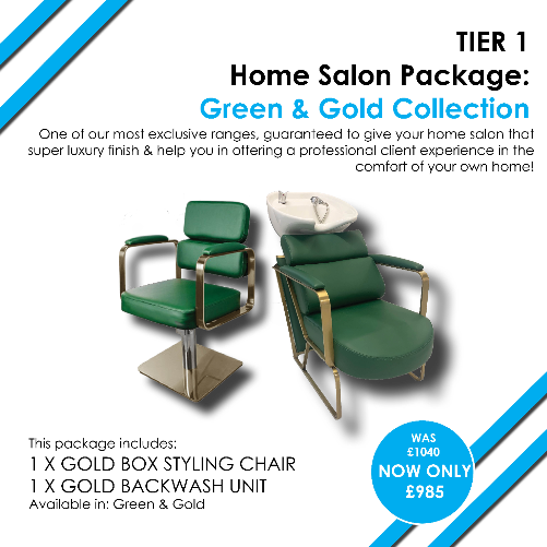 T1 Gold Home Salon Package by SEC