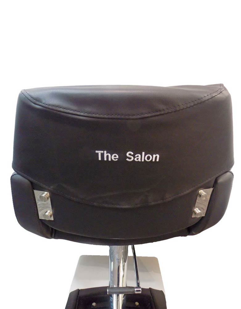 Personalised Salon Chair Cover by SEC